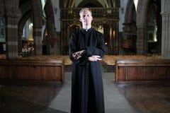 Protestancki Katedralny minister fotografia royalty free