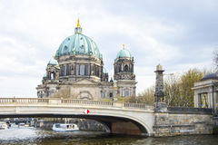 Protestant cathedral in Berlin Stock Photo