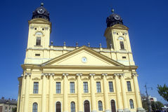 Protestant church, Debrecen, Hungary Royalty Free Stock Image