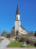 Protestant church in Hanko, Finland Royalty Free Stock Image