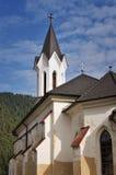 Protestant church in the Kralova Lehota Stock Images