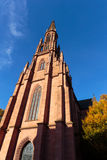 Protestant Church of Offenburg Royalty Free Stock Photos