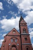 Protestant Church Olpe Stock Image