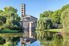 Protestant Church of Peace (Friedenskirche) in Potsdam Stock Photography