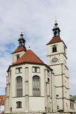 Protestant church in Regensburg Royalty Free Stock Images