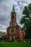 Protestant Church Saint Johans (Johanneskirche)  in the square o Stock Photography