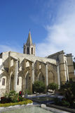 Protestant church of Saint Martial in Avignon Stock Image