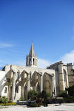 Protestant church of Saint Martial in Avignon, France Royalty Free Stock Images