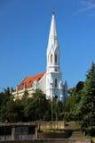Protestant church in Zrenjanin. View on the Protestant church in Zrenjanin Stock Photography
