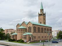 Protestant St. Matthew\'s Church located in Berlin, Germany during daylight