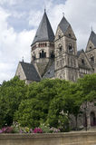 Protestant Temple in Metz royalty free stock photos