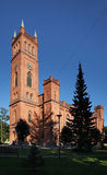 Protestant Trinity church in Vaasa. Finland Stock Photo