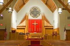 Protestantische Kirche Chancel stockfoto