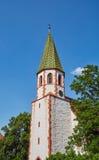 Protestantkyrka Grötzingen Arkivfoton