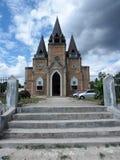 Protestantse Kerk in Samosir, Sumatra Royalty-vrije Stock Foto's