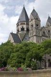 Protestantse Tempel in Metz Royalty-vrije Stock Foto's