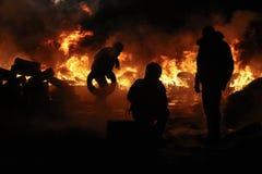 Protestas antigubernamentales en Ucrania Fotografía de archivo