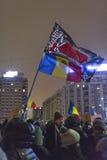 Protestas antis de la corrupción en Bucarest Fotografía de archivo