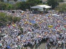 Protestas de Barranquilla imagen de archivo libre de regalías