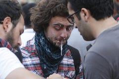 Protestas de Estambul Taksim Fotos de archivo libres de regalías