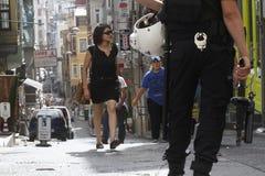 Protestas de Estambul Taksim Fotos de archivo