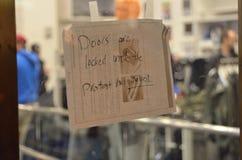 Protestas de la decisión de Ferguson en San Francisco Union Square Fotografía de archivo libre de regalías