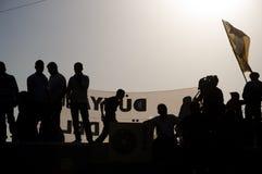 Protestas del parque de Gezi en Estambul Fotos de archivo libres de regalías
