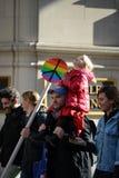 Protestas del triunfo Imagen de archivo