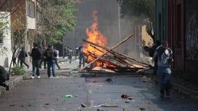 Protestas en Chile metrajes
