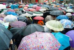 Protestas en España foto de archivo libre de regalías