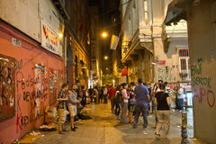 Protestas en Turquía, 2013 Fotos de archivo libres de regalías