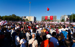 Protestas en Turquía foto de archivo