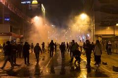 Protestas en Turquía Imagen de archivo libre de regalías