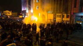 Protestas en Turquía Imágenes de archivo libres de regalías