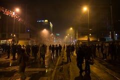 Protestas en Turquía Imagen de archivo