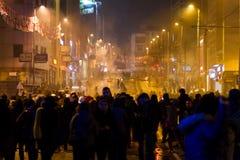 Protestas en Turquía Foto de archivo libre de regalías