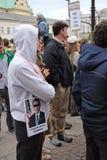 Protestataires Image libre de droits