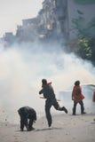 Protestation à Istanbul Image libre de droits