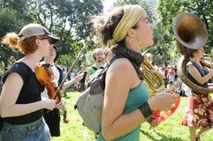 Protestation à Toronto. Photographie stock libre de droits