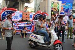 Protestation contre l'amnistie Bill Photos stock