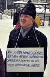Protestation de Bucarest - 15ème jour 4 Images stock