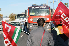 Protestation de cadre. Images stock