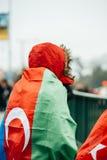 Protestation de Diaspora d'Arménien et de la Turquie Photos stock