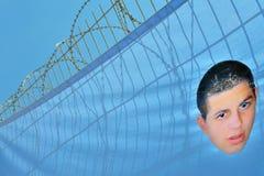Protestation de Gilad Shalit Photo libre de droits