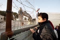 Protestation de Jérusalem est photos stock