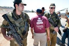 Protestation de la Cisjordanie Image stock