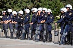 Protestation de la jeunesse à Athènes Images stock