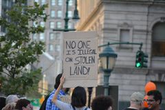 Lights 4 Liberty protest in New York City