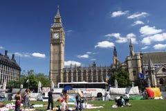 Protestation de Londres Photo stock