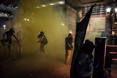Protestation de rassemblement d'atout de Phoenix Photographie stock libre de droits